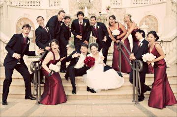May i see your creative wedding party photos weddingbee boards wedding junglespirit Gallery