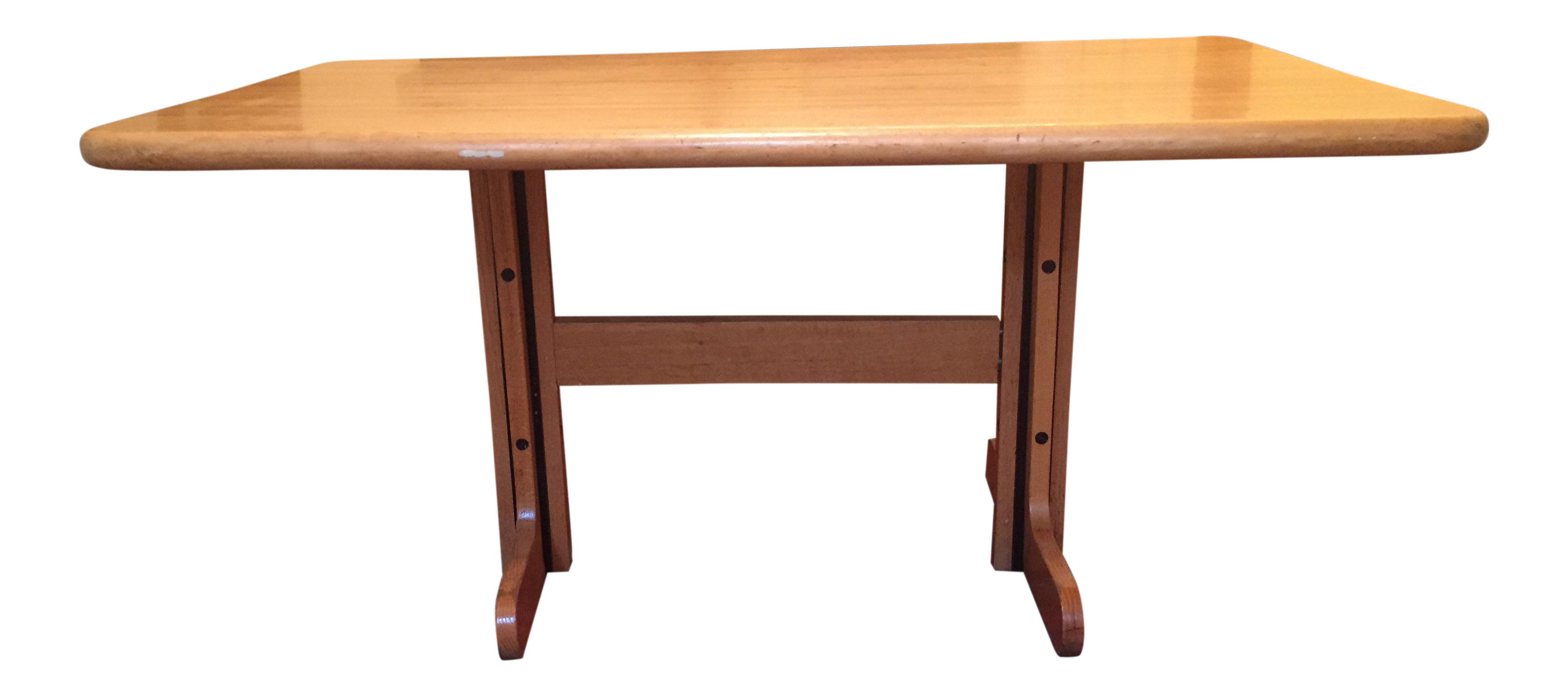 Solid Maple Kitchen Table | Maple kitchen, Butcher blocks and Kitchens