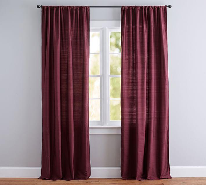 Snowbedding Com Drapes Curtains Silk Drapes Curtains