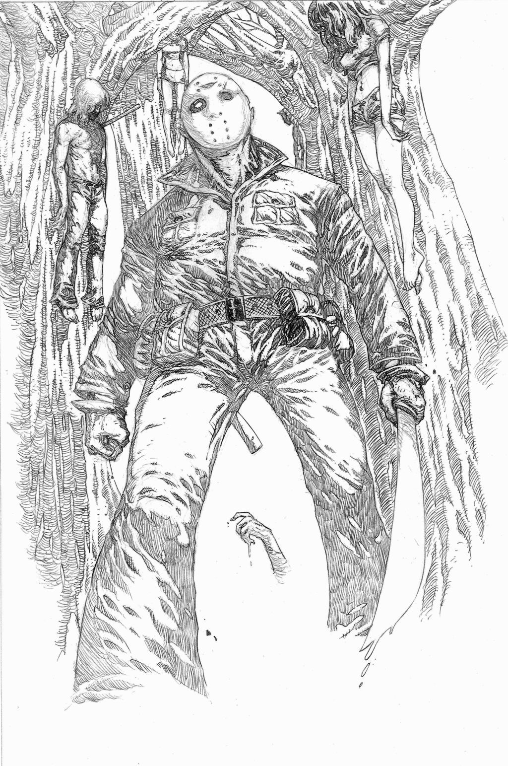 Jason Voorhees Coloring Pages | Coloring Pages | Pinterest