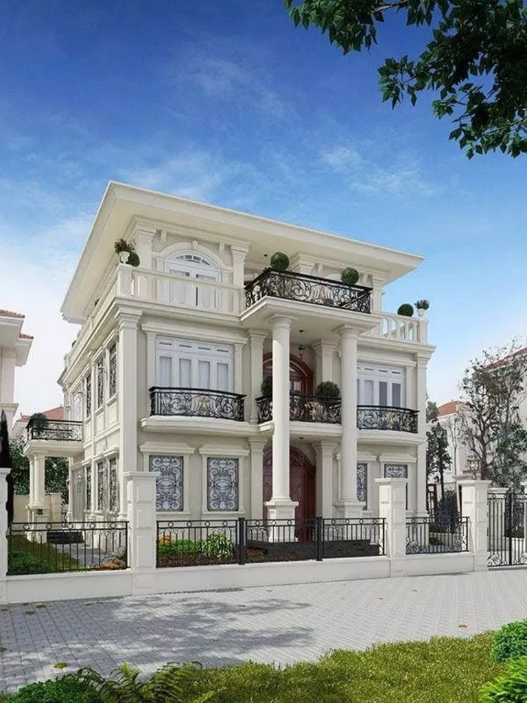 67 House Design With Classical Architecture Ideas Housedesign Housedesignideas Classicalhousedesign House Designs Exterior House Exterior House Front Design