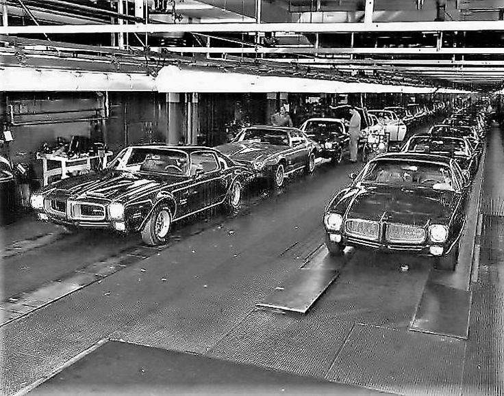 1970 Firebirds rolling off the Norwood, Ohio plant