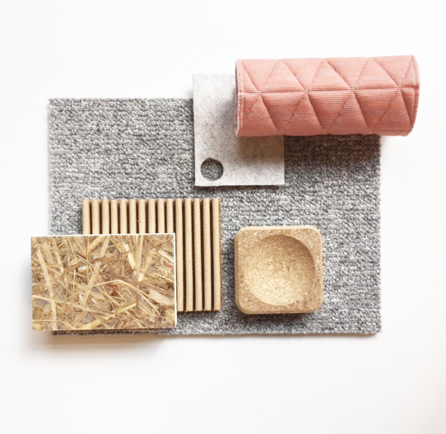 Moodboard Healthy Sustainable Materials Interior Design
