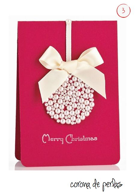 Resultado de imagen para tarjetas navideñas hechas a mano
