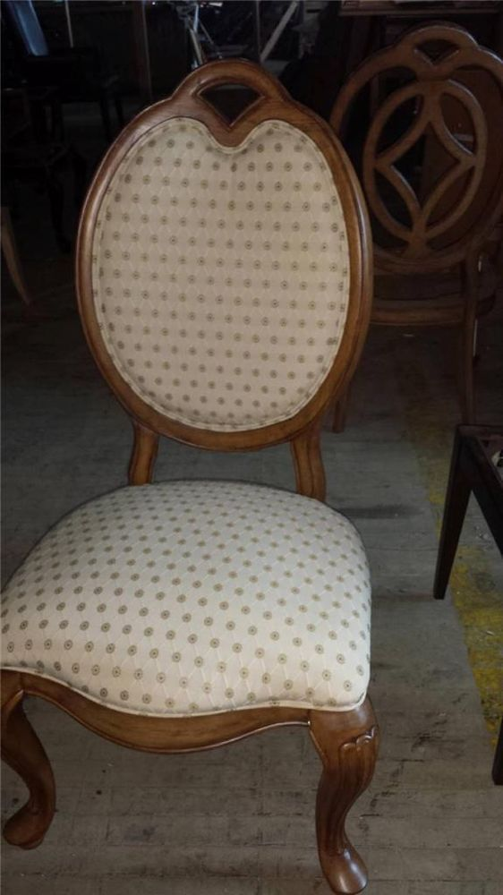 Set Of 2 Thomasville Furniture Villa Soleil UPHOLSTERED Side Chairs  40621 881