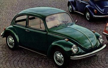 Dark Green Clic Volkswagen Beetle