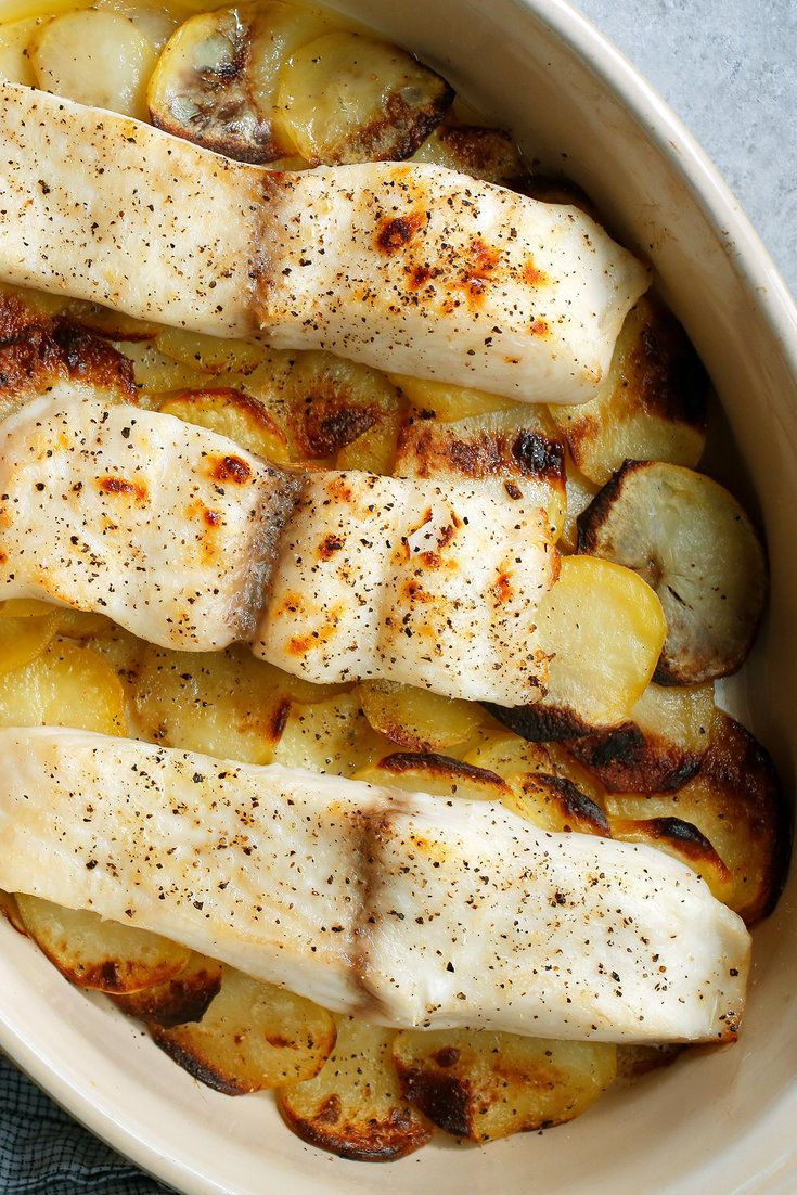 Roasted Cod And Potatoes Recipe Nyt Cooking Recipes Cooking