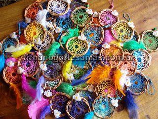 souvenirs de atrapasueos con pajaritos detalle original para primer aito