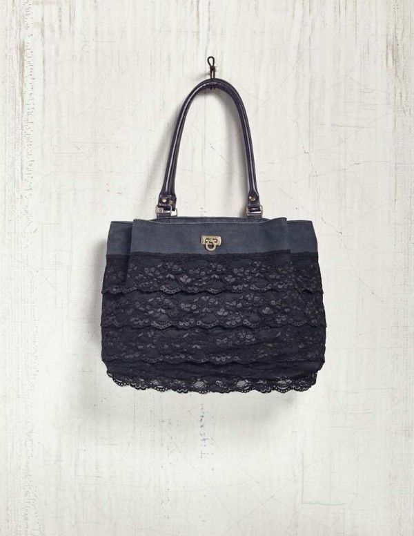 The Mona B Lace And Love Canvas Shoulder Bag Is Everything You Want Need In