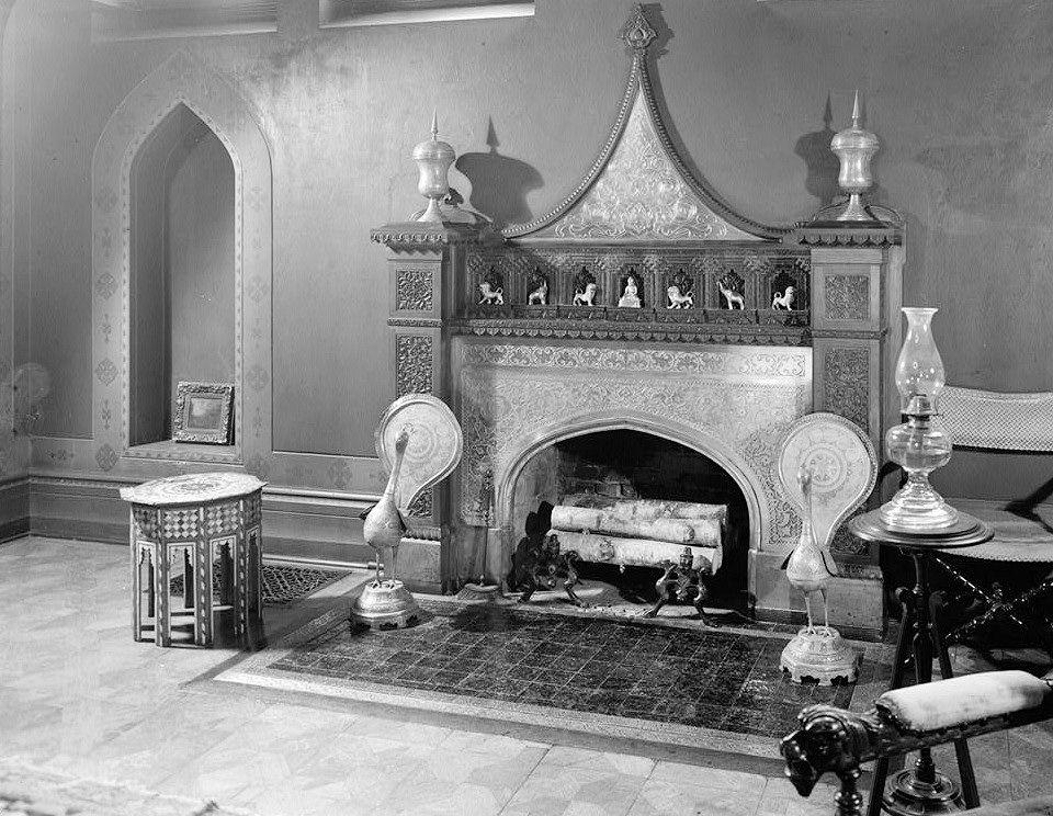 Interior Pictures 2 Olana Frederic Edwin Church House Hudson