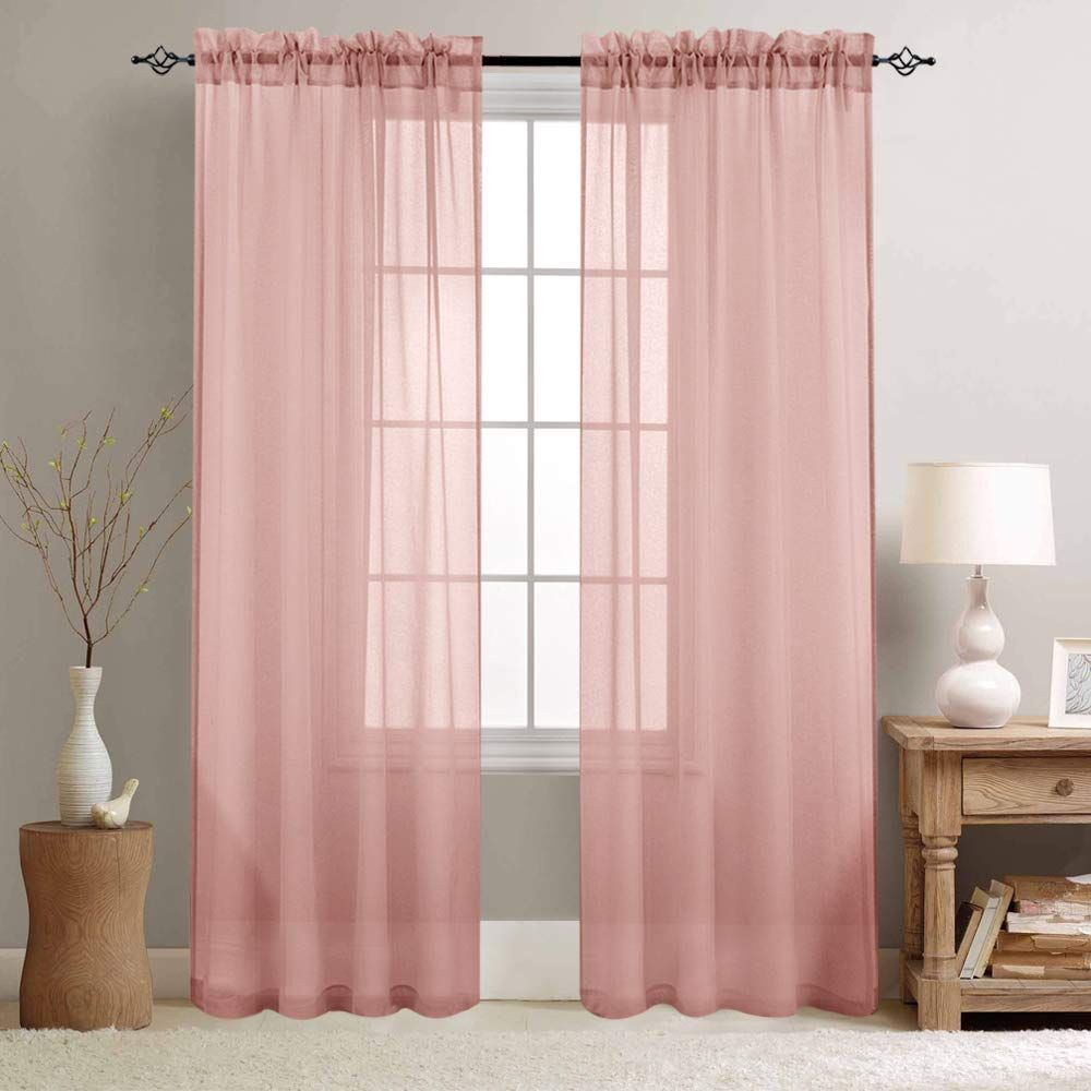 Pin On Pink Curtains #pink #curtains #for #living #room