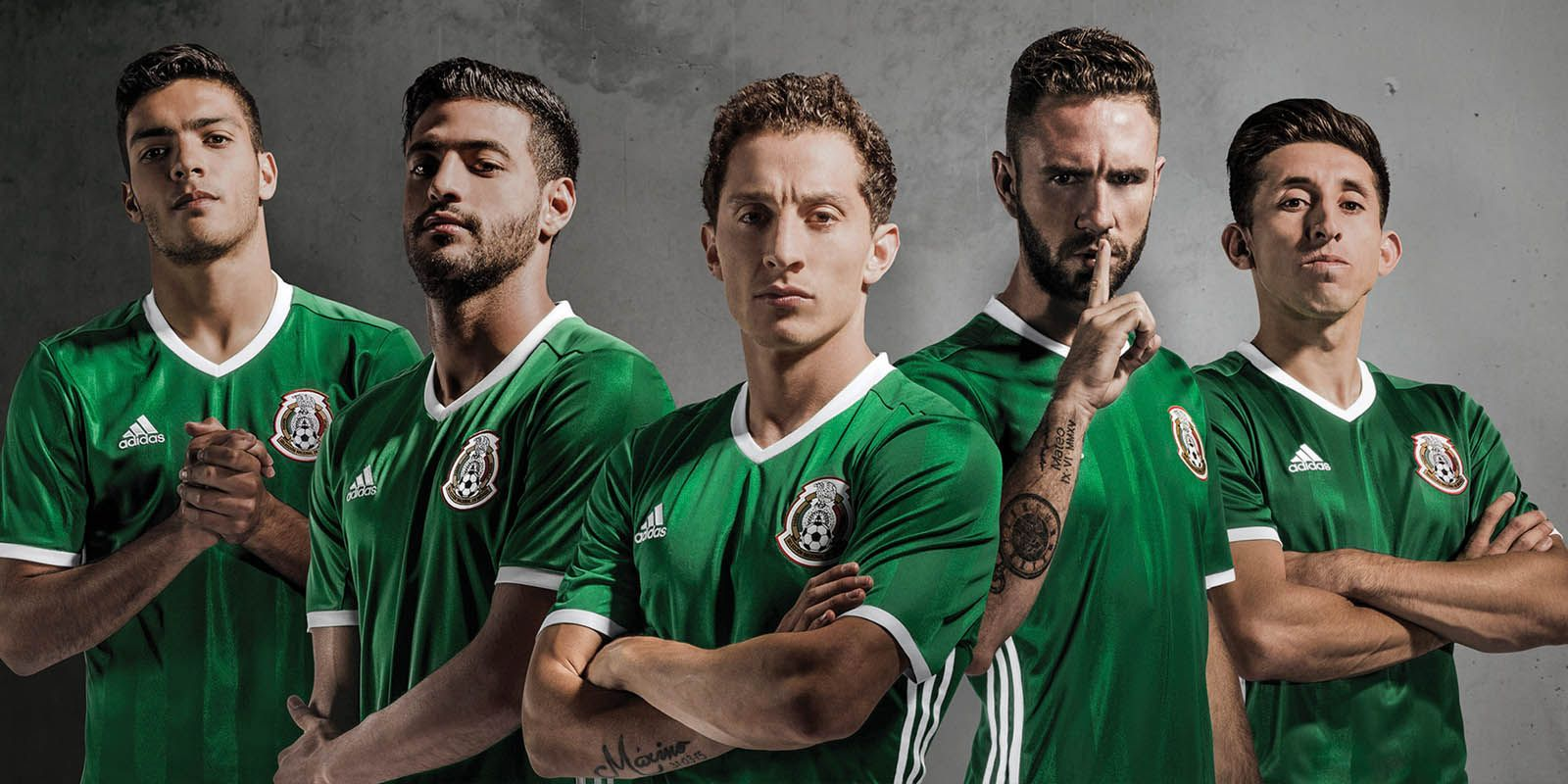 ca8a99be9 The new Mexico 2016 Copa America home kit is green with subtle accents