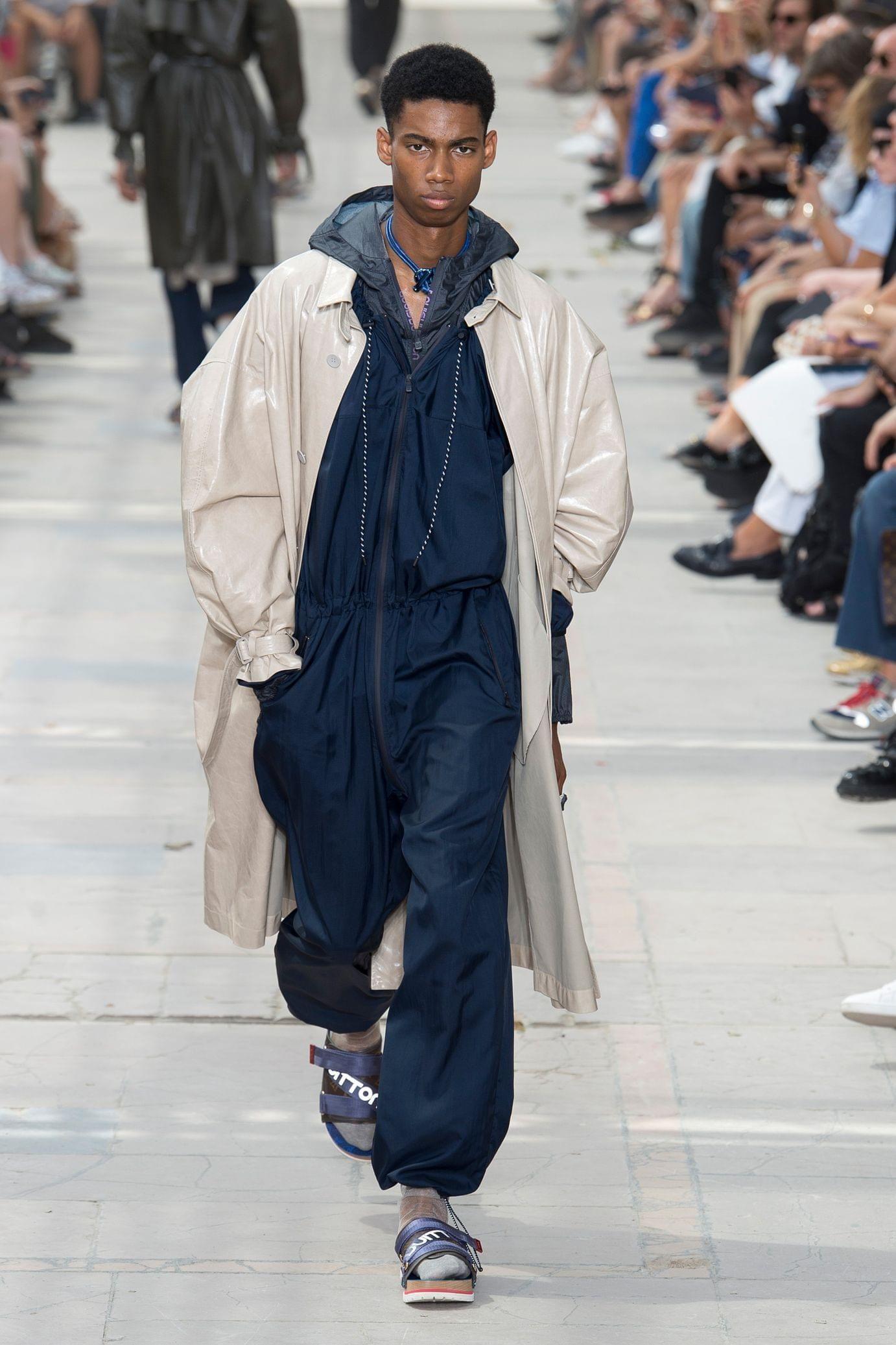 Défilé Louis Vuitton Printemps été 2018 Jumpsuits Pinterest