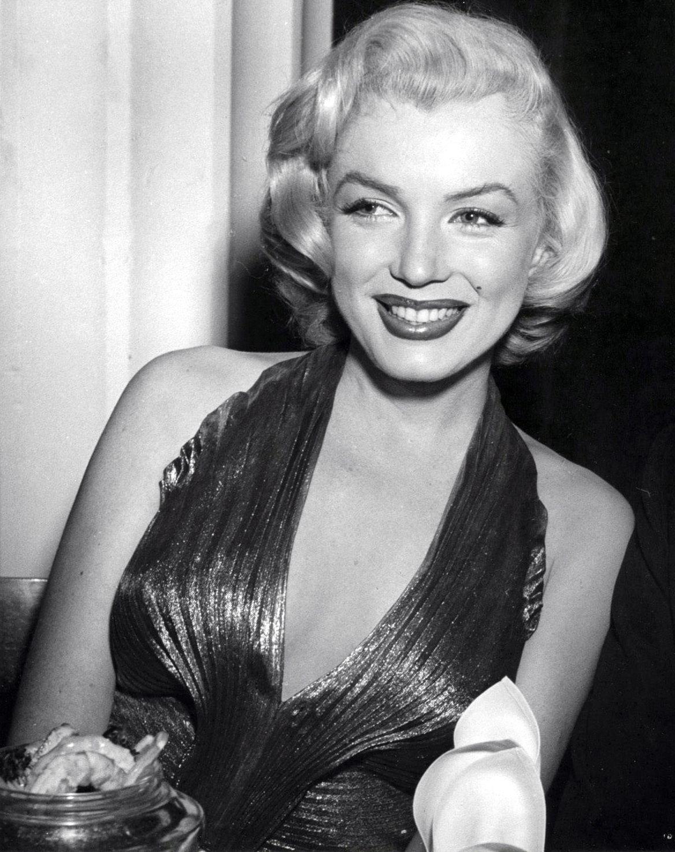 Marilyn Monroe Attending Awards
