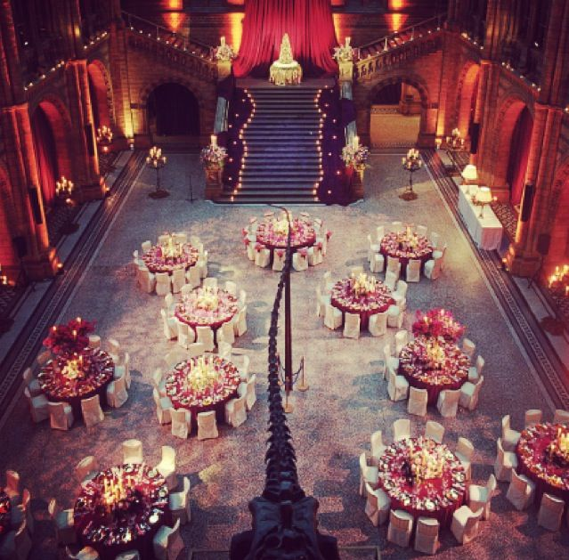 Wedding Venue Natural History Museum London