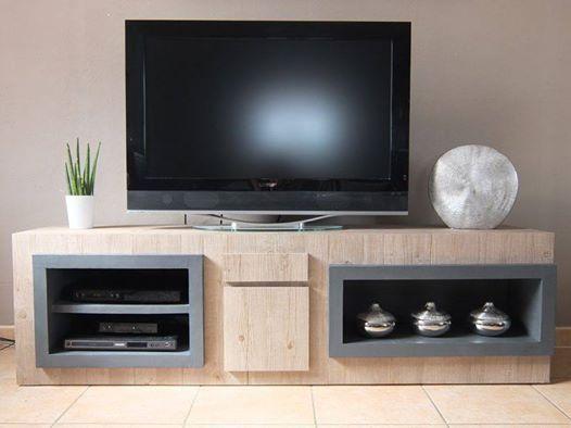 meuble tv meubles en carton la cr ath que de nadine mobiliers meubles pinterest. Black Bedroom Furniture Sets. Home Design Ideas