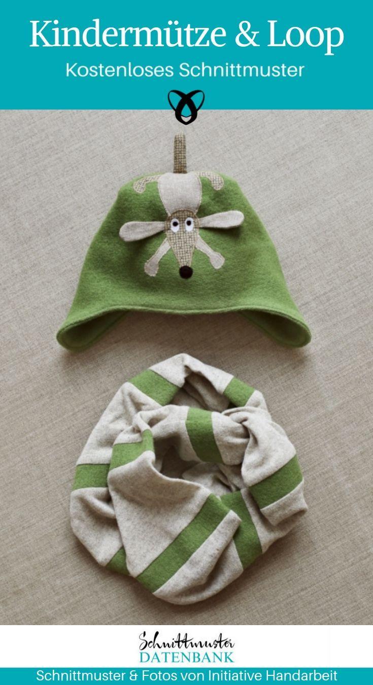 Photo of Hut- und Schlaufenschal für Kinder