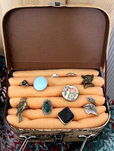 Handmade Gifts  Diy Ring Display