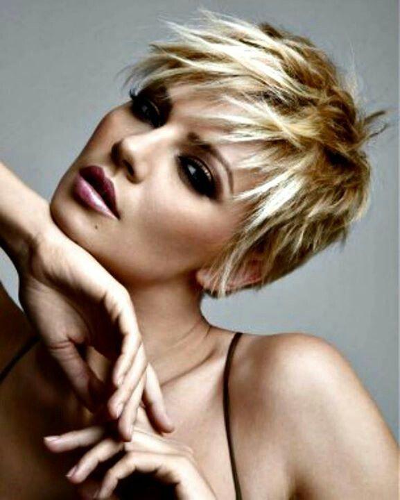 I just love short hair Hair Pinterest
