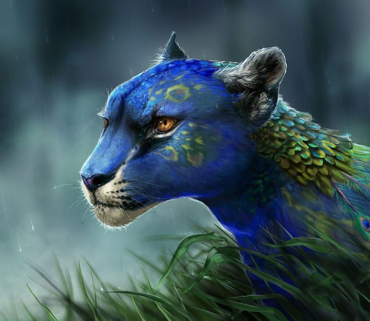 Photo of Fantasy Animal Paintings That Show The Real Magic In The World – #Animal #fantas…