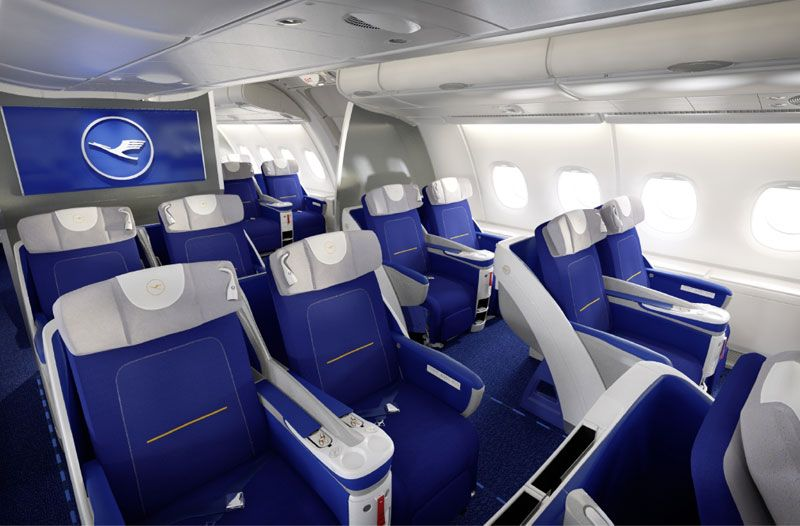 Lufthansa business class A380800 Trip advisor, Travel