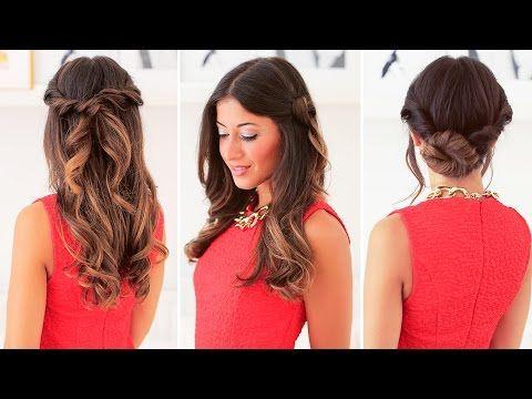 Easy Everyday Hairstyles Youtube Hair Makeup Videos Easy