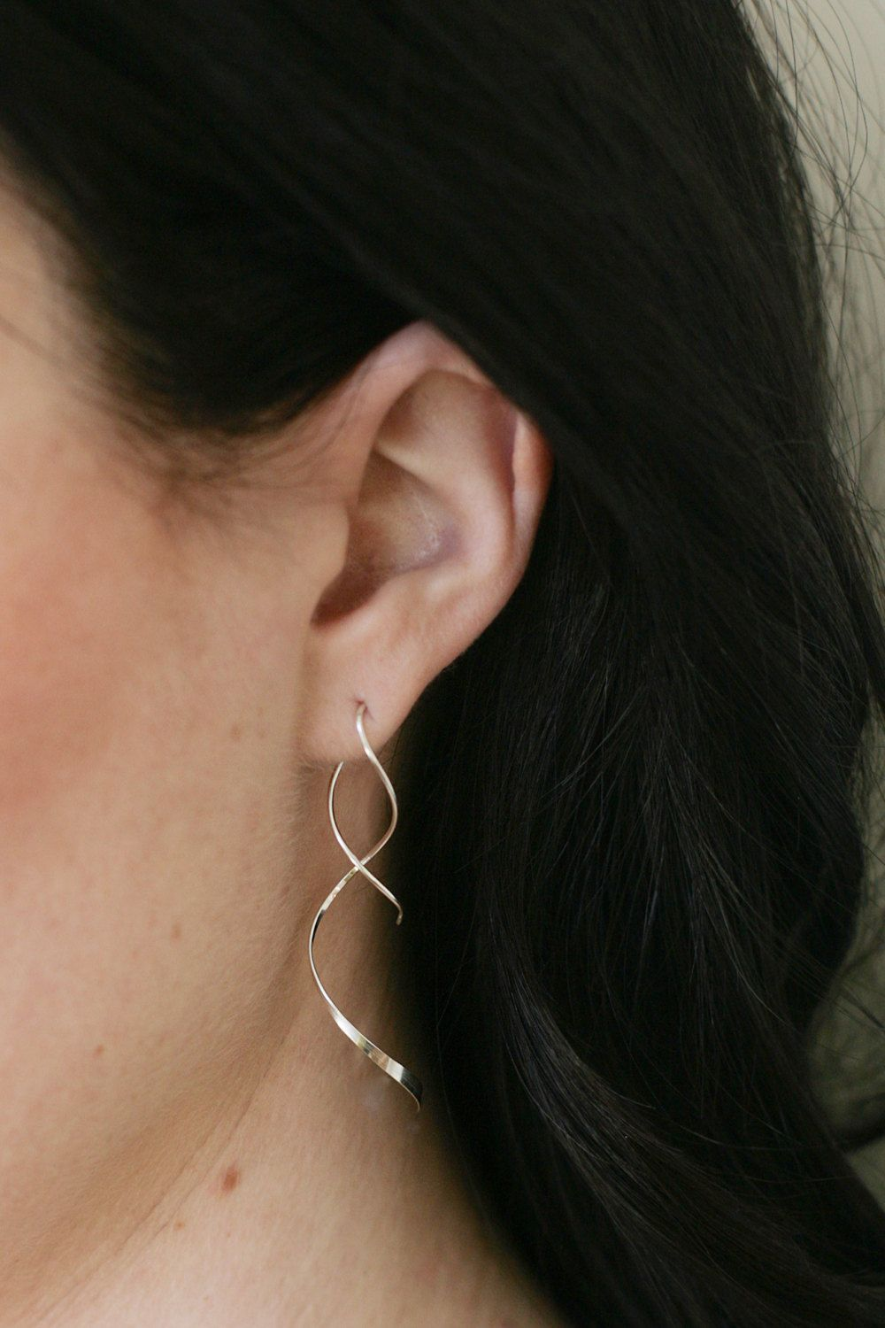 Pear piercing ideas  These beautiful earrings are a great way to add an elegant look to