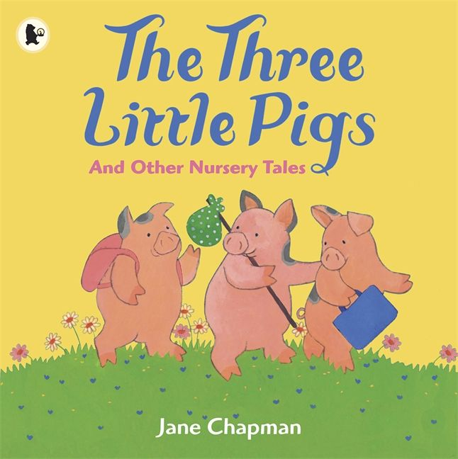 This the original book of the three little pigs it was an old