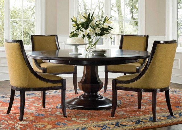 Sienna Round Dining Table - goes from 56