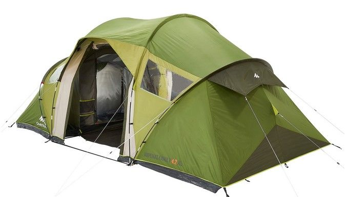 Tente arpenaz family 4 2 xl tente 1 3 personnes - Tente 4 places 2 chambres seconds family 4 2 xl ...
