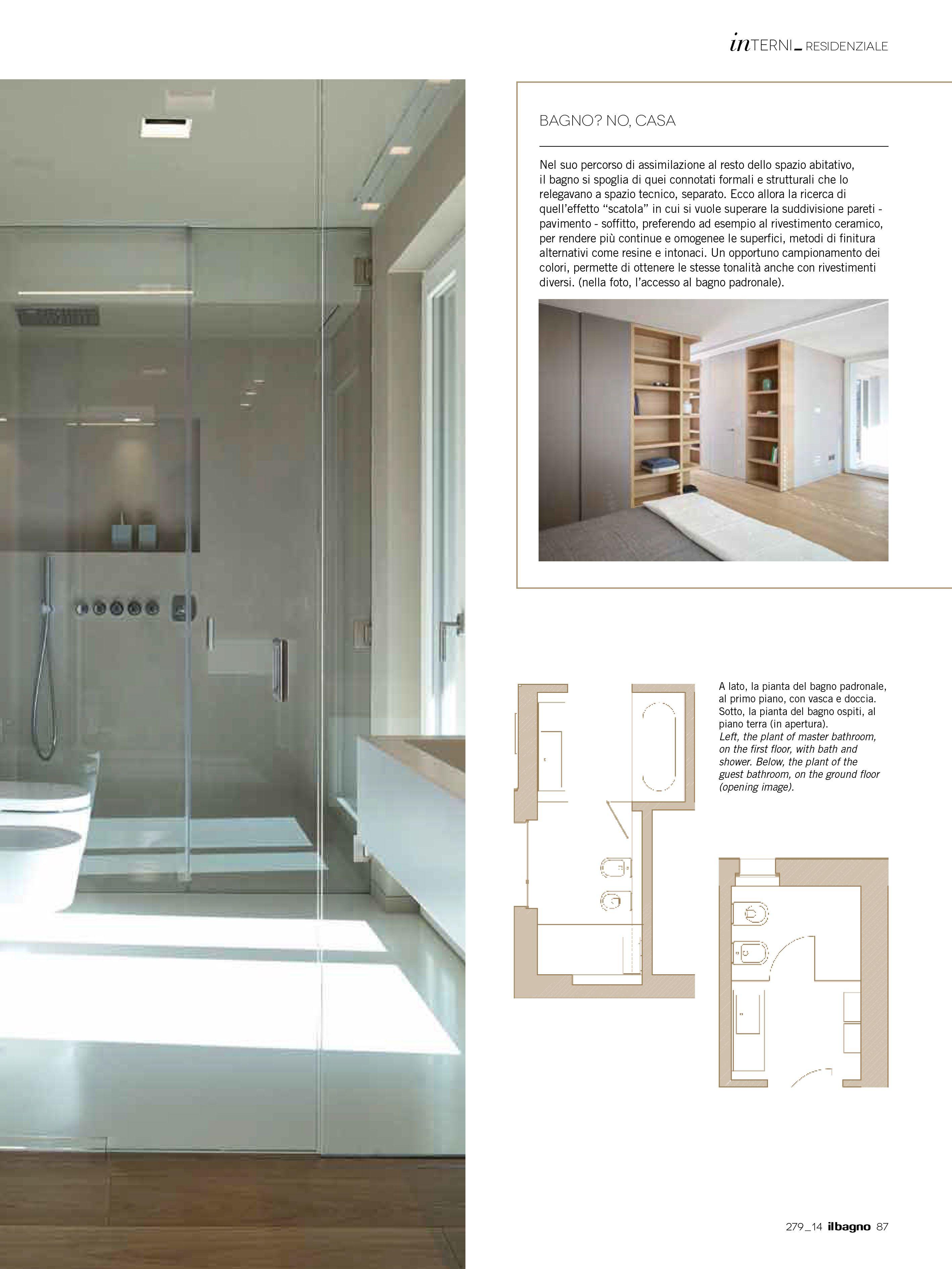 BFA   Il bagno oggi e domani, n.279.14 - April 2014 DBinformationspa #architecture #mountains #design #interior #contemporary #modern