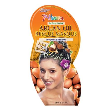 7th heaven argan oil rescue masque for hair roots 25ml for 7th heaven beauty salon