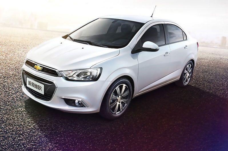 New Chevrolet Aveo 2015 Chevrolet Aveo Carros China