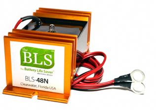 Battery Life Savers Bls 48n Desulfator For 48v Golf Carts Golf Cart Batteries Car Battery Repair