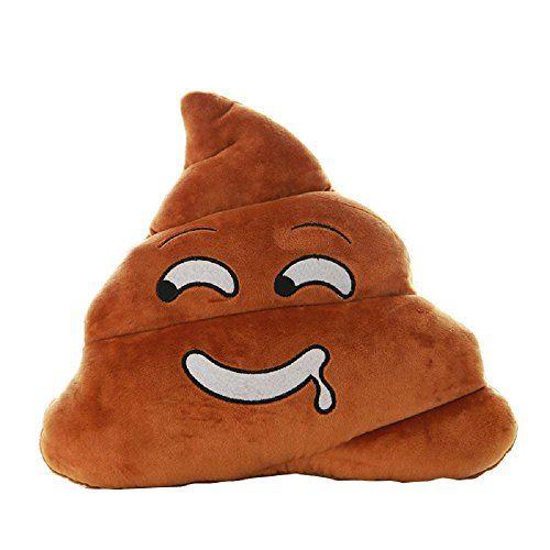 Amusante Smiley Poop Oreiller en Forme de poup/ée Toy Throw Cadeau