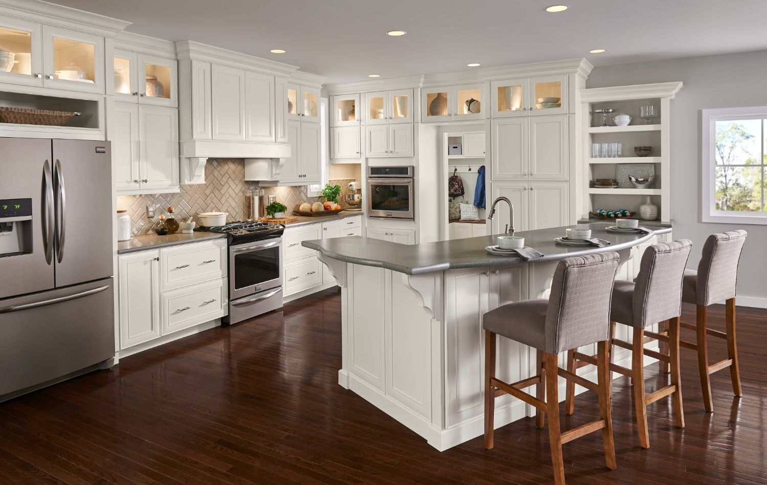 Atherton Collection American Woodmark Kitchen Cabinets Home Depot Buy Kitchen Cabinets Inexpensive Kitchen Cabinets