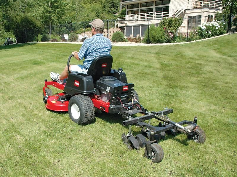 Jrco 38 In 2020 Landscaping Equipment Zero Turn Lawn Mowers Aerator
