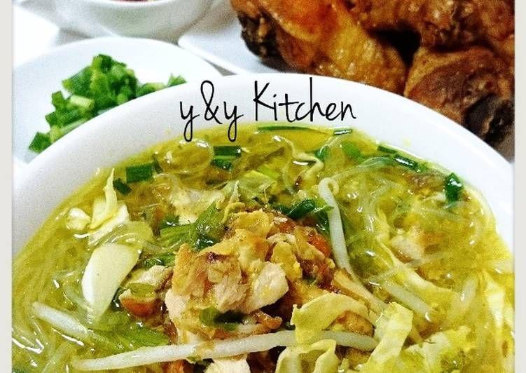 Resep Soto Ayam Oleh Yny Resep Makanan Resep Resep Masakan