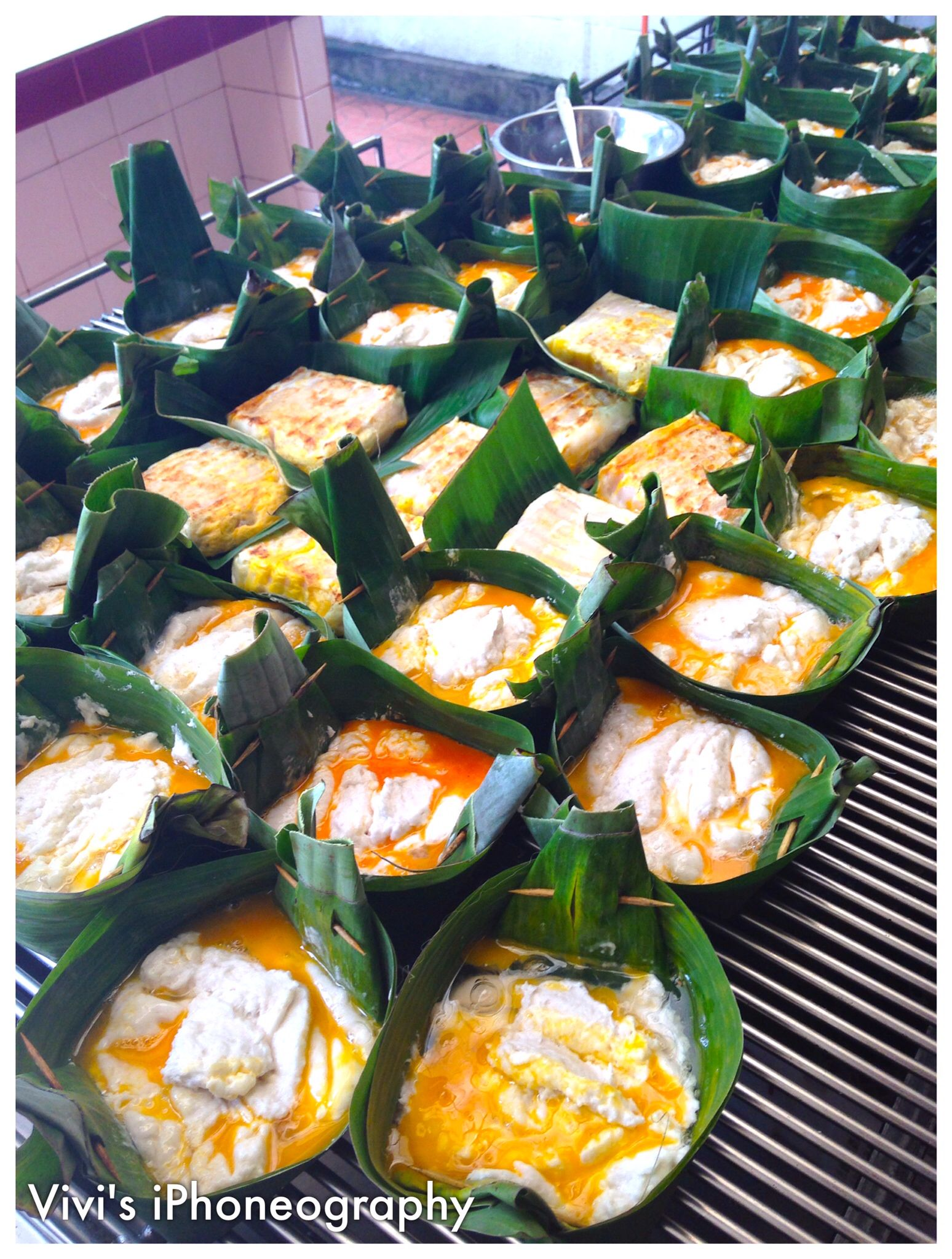 Pempek Bakar In Palembang Indonesia Is Uniquely Kacang Ayu 250gram By Bali Trademark Cuisine It A Kind Of Fish Cake This One Cook On Grill And Mix With