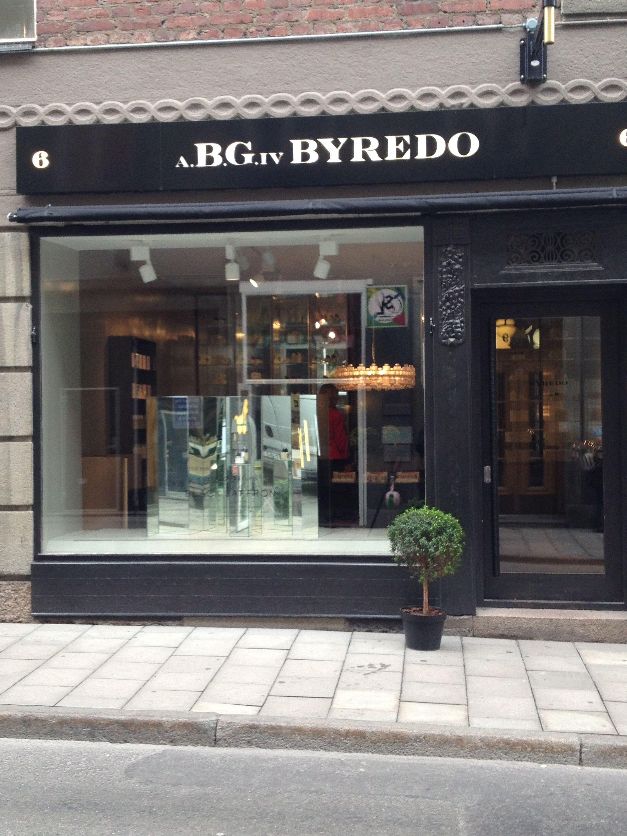Byredo, Stockholm. Mäster Samuelsgatan 10