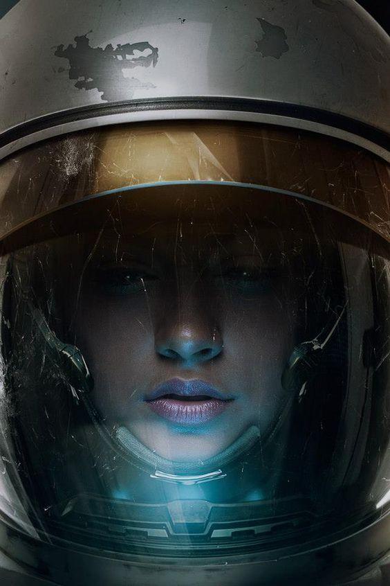 Astronaut...see more #sci-fi art at http://www.freecomputerdesktopwallpaper.com/wspacenine.shtml: