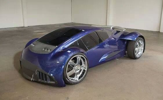 2002 Lexus Cs 2054 Concept Car Used In The Movie Minority Report