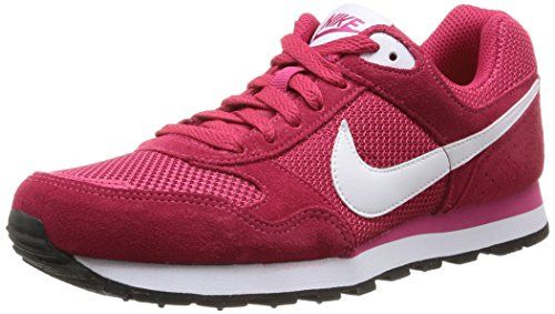 new concept 74f17 c4ba8 Nike Women s MD Runner - Zapatillas de running para mujer, color rojo,  talla 40.5