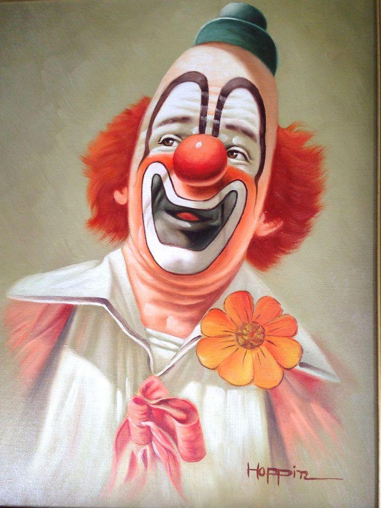 Pin On Clown Art