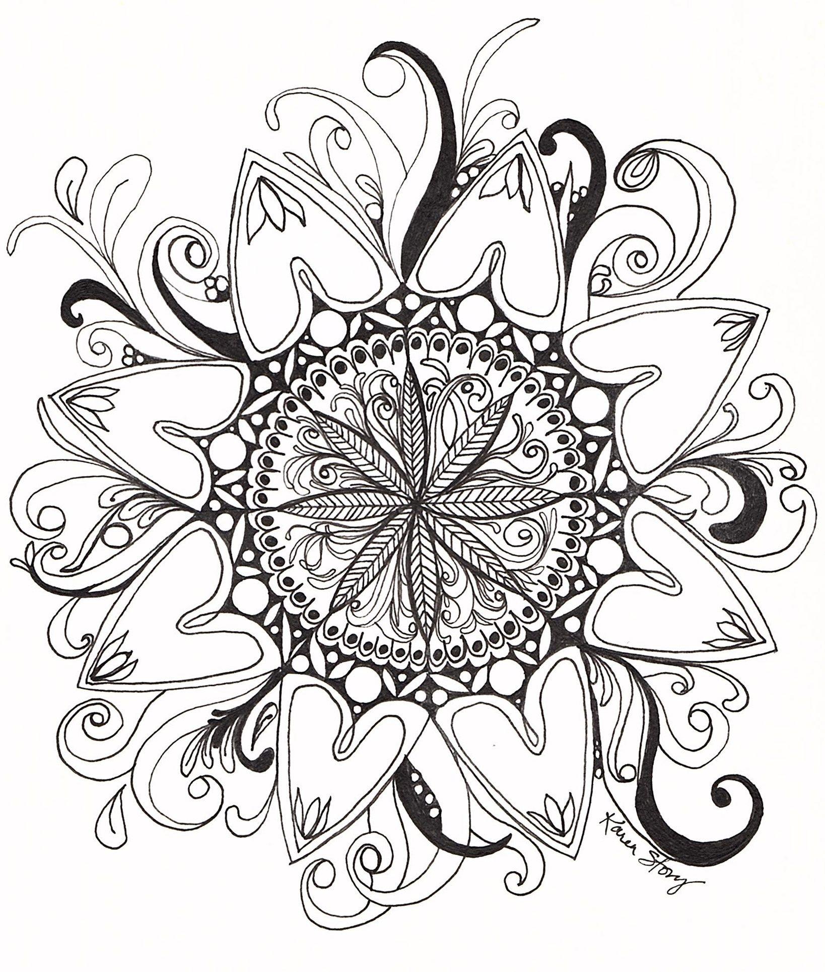 Swirl Mandala Coloring Page Mandala Coloring Pages Mandala Coloring Coloring Pages
