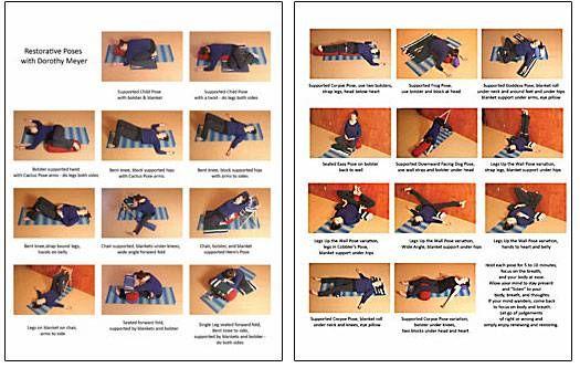 Restorative Poses Click To Download Print Friendly Pdf Restorative Yoga Sequence Restorative Yoga Bikram Yoga Poses