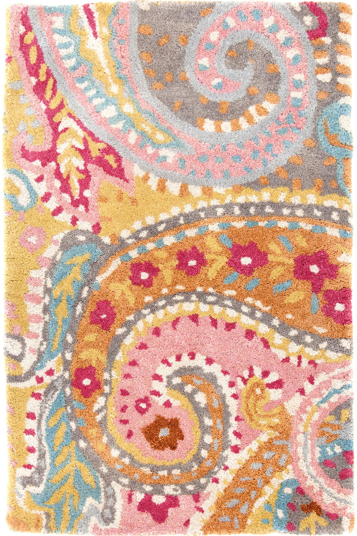 Lyric Paisley Wool Tufted Rug The Outlet With Images Paisley