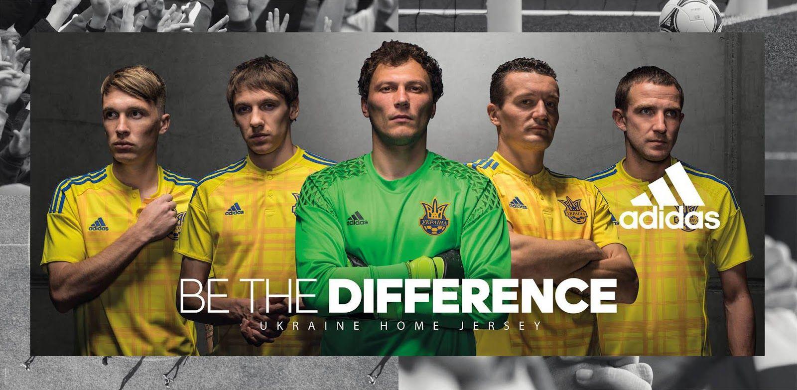 Ukraine Euro 2016 Kits Released - Adidas