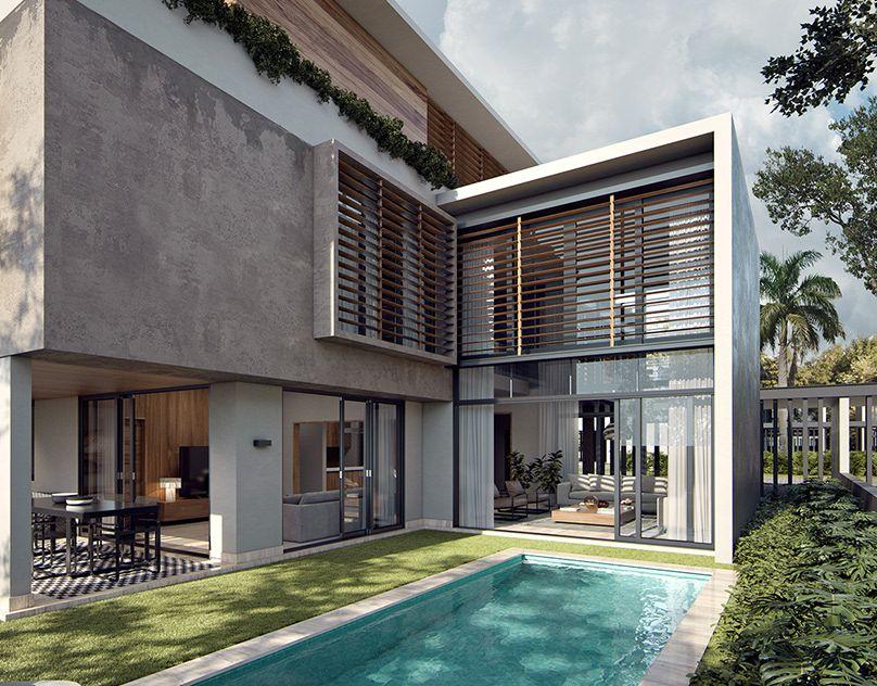 SOHO 3 Residence on Behance | Architecture house, House ...