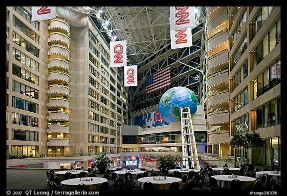 atrium inside cnn center